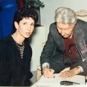 Sheila Schachner and Erté